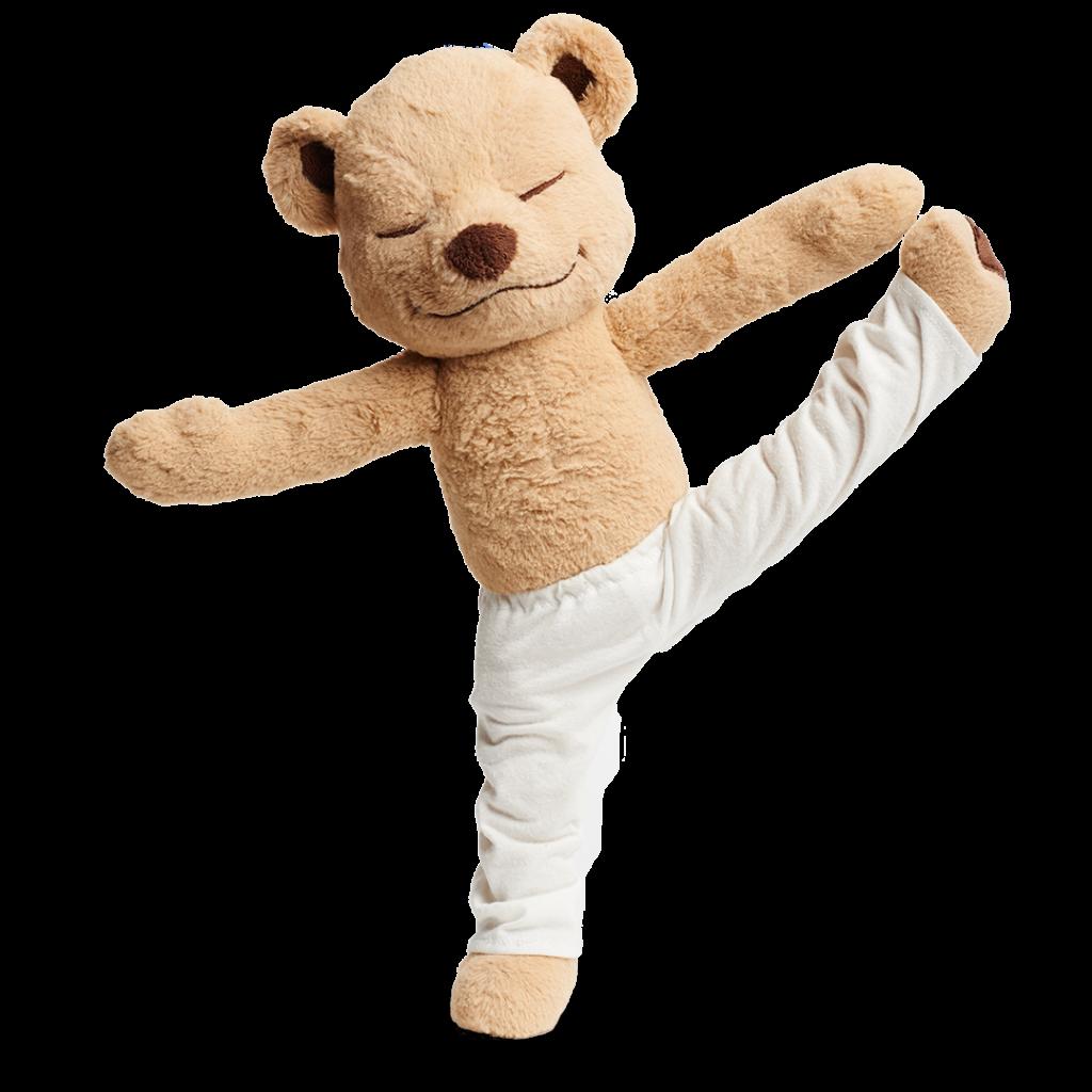 Meddy Teddy extended big toe pose