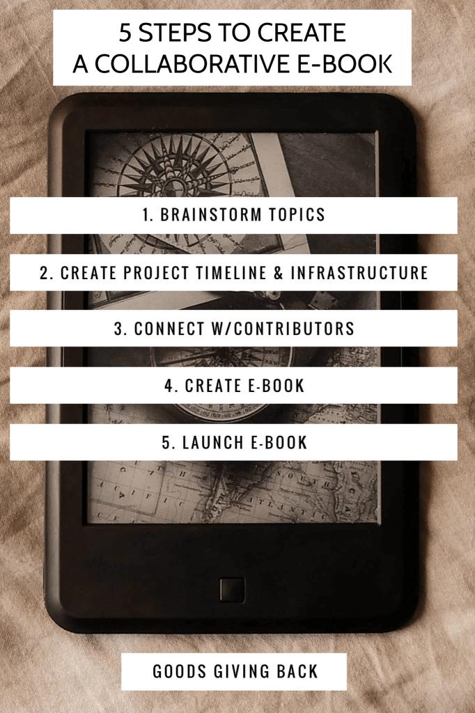 5 steps to create a collaborative e-book